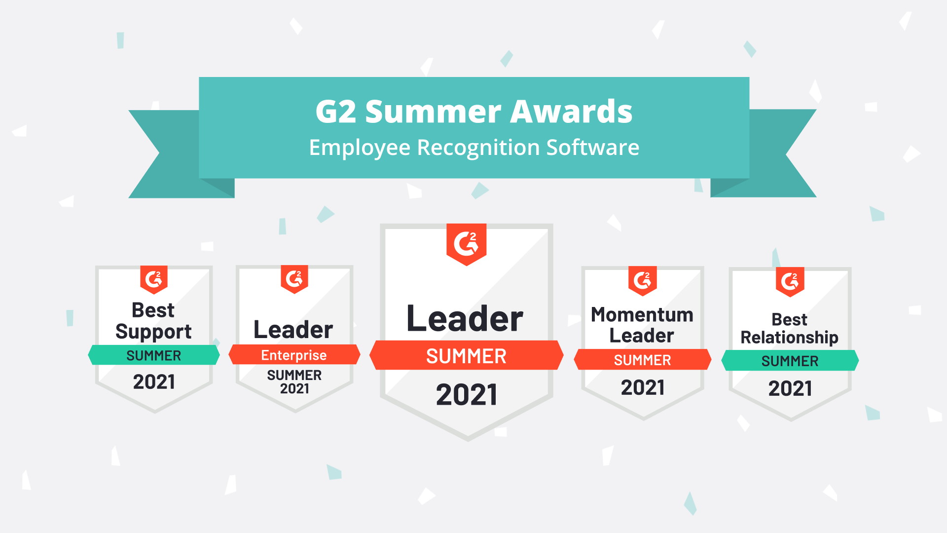 G2 2021 Summer Awards